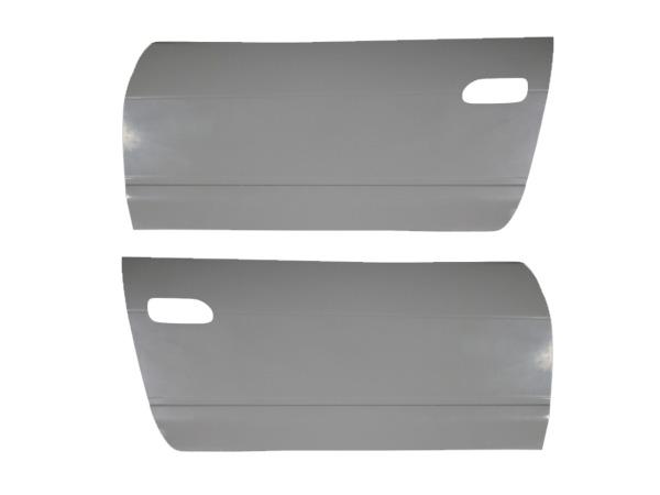 180SX RPS13 ドアカバーセット H1~H10/12 全年式 FRP 未塗装 社外品 左右セット ワンエイティ 日産 ニッサン NISSAN
