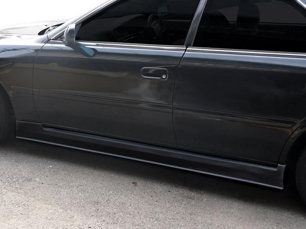 チェイサー JZX100 サイドステップ 後期 H10/8~H13/6 FRP 未塗装 社外品 左右セット CHASER トヨタ TOYOTA