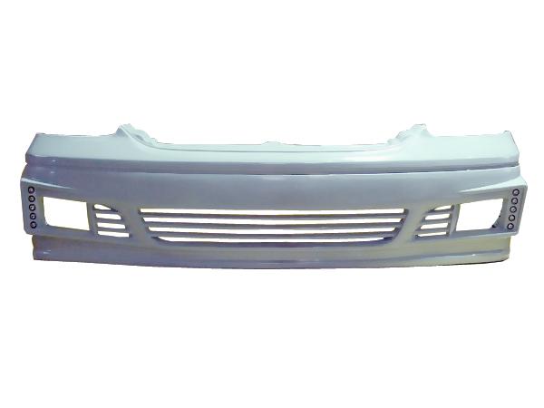セルシオ UCF30 UCF31 フロントバンパー 後期 H15/8~H18/8 FRP 未塗装 社外品 CELSIOR トヨタ TOYOTA