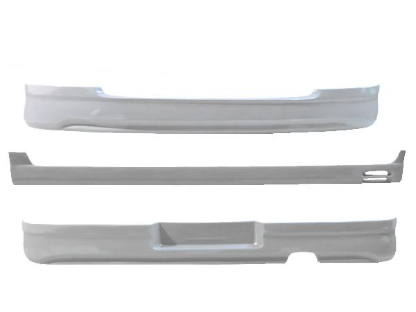 ワゴンR MH23S エアロセット FA FX FXリミテッド FXリミテッド2 ※スティングレー装着不可 H20/9~H24/8 FRP 未塗装 社外品 WAGONR スズキ SUZUKI