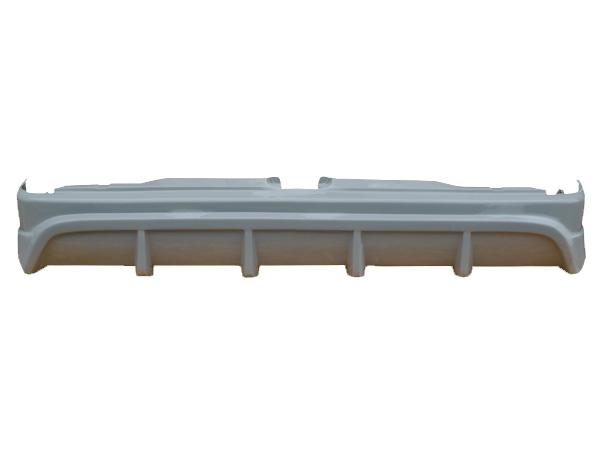 ハイエース 200系 200 レジアスエース 標準 ナロー TRH200 KDH201 KDH206 リアバンパー 1型 2型 3型 4型 H16/8~ FRP 未塗装 社外品 HIACE REGIUSACE