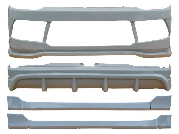 ハイエース 200系 200 レジアスエース 標準 ナロー TRH200 KDH201KDH206 エアロセット 3型 H22/7~H25/11 FRP 未塗装 社外品 HIACE REGIUSACE トヨタ TOYOTA
