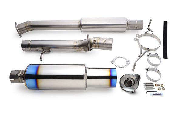 取付に必要なガスケットやボルト類 ボルトの焼き付き防止剤 アンチシーズ 大幅にプライスダウン などもすべて含めたコンプリートキット すぐに取付け作業にかかれます R.S.E フルチタンマフラー ER34 日産 4年保証 4ドア スカイライン RB6090-NS06B RB25DET