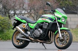 SP忠男製 Kawasaki ZRX1200用 POWER BOX SUSマフラー