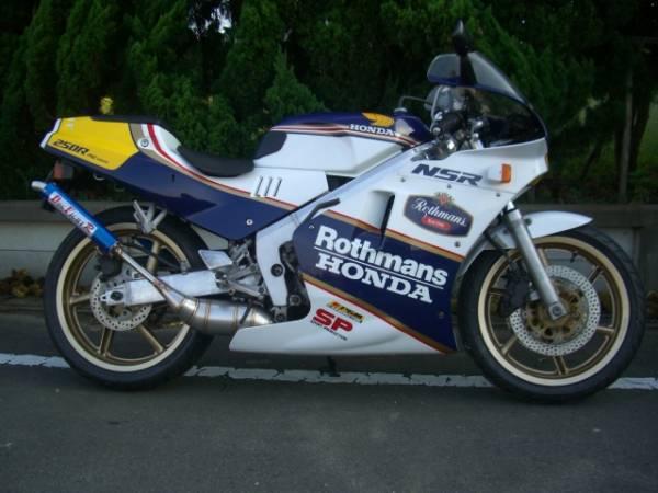 DOG FIGHT RACING ドッグファイトレーシング製 HONDA NSR250R('88-'89) ステンレスチャンバー/アルミサイレンサー