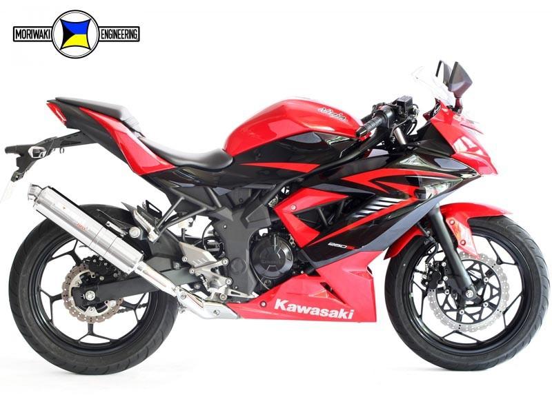 Ninja250SL モリワキ ZEROスリップオンマフラー(SUS)(01810-LL248-00)
