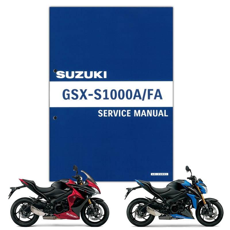 SUZUKI(スズキ) GSX-S1000/F サービスマニュアル(S0040-25B91)