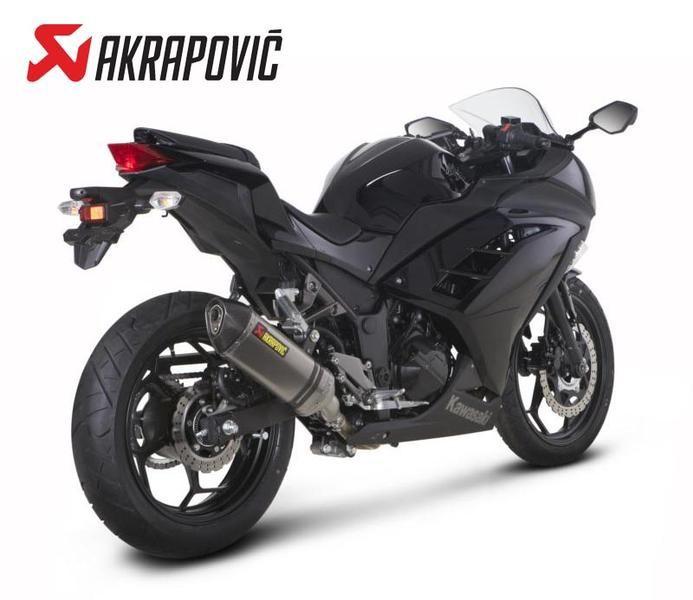 Ninja250/Z250 AKRAPOVIC HEXAスリップオンライン(JMCA認定)(S-K3SO1-HZCJPA)