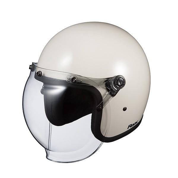 OGK KABUTO(カブト) ROCK(ロック) ストリートジェットヘルメット バブルシールド