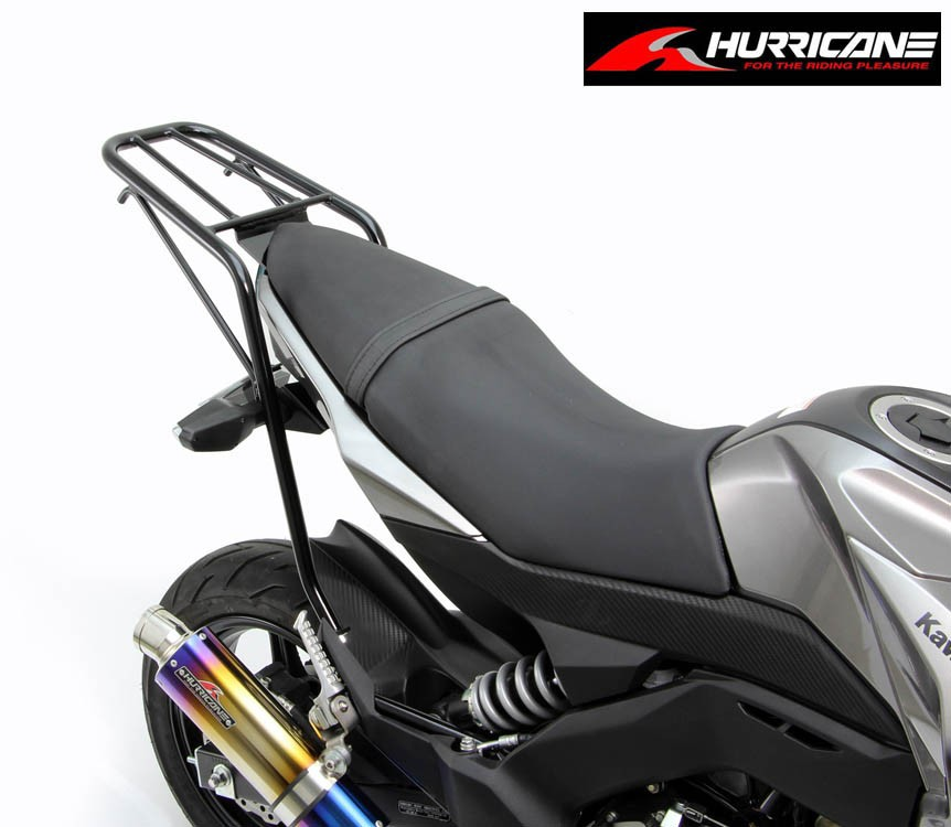 Kawasaki Z125PRO ハリケーン リアキャリア(HA6311B)