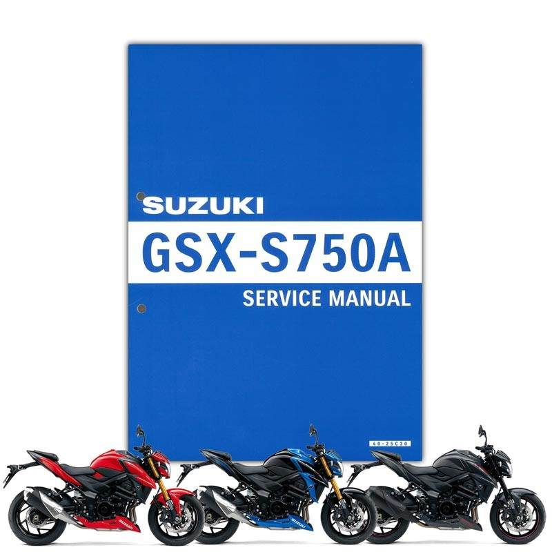 SUZUKI GSX-S750 サービスマニュアル(S0040-25C31)
