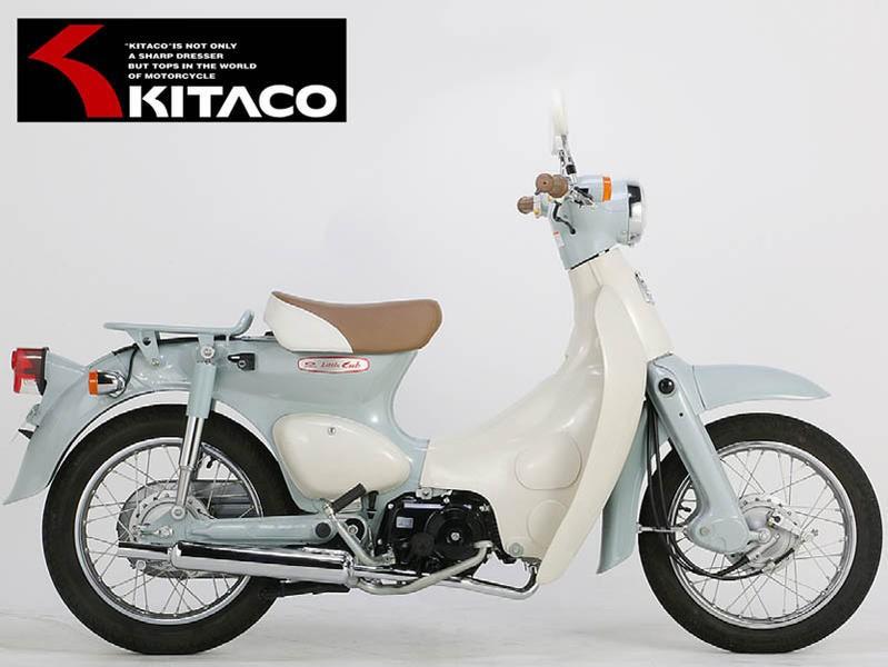 リトルカブ(Fi)/スーパーカブ50(Fi) KITACO(キタコ) キャプトンマフラー(543-1140850)
