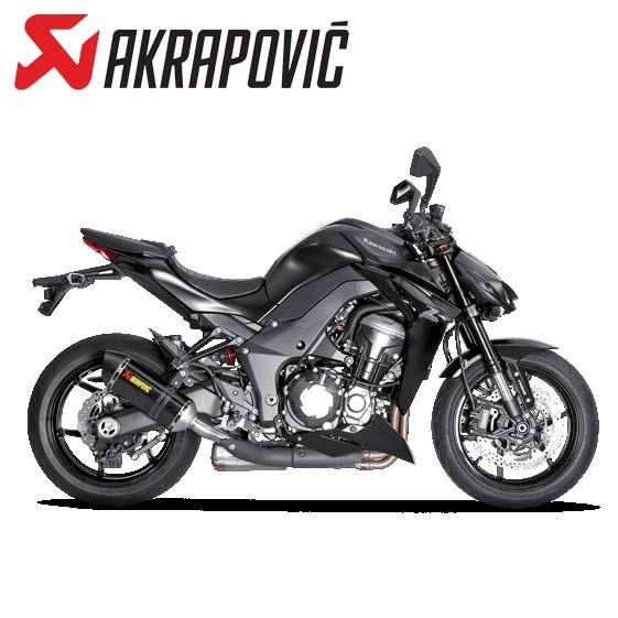 Kawasaki Z1000('17) AKRAPOVIC スリップオンライン S-K10SO18-HZCJPA
