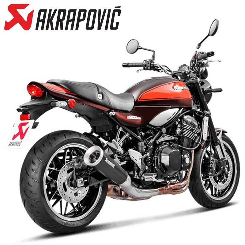 Kawasaki Z900RS AKRAPOVIC スリップオンライン チタンブラック(S-K9SO5-HBAVTBLJPA)