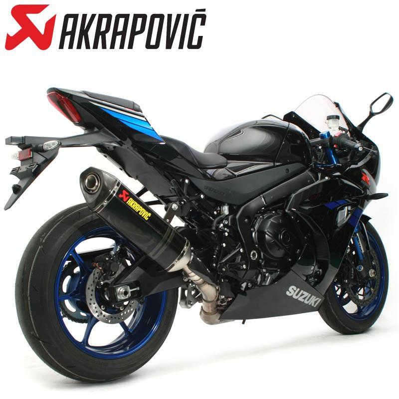 GSX-R1000/R('17-'18) AKRAPOVIC スリップオンライン カーボン S-S10SO12-HRCJPA