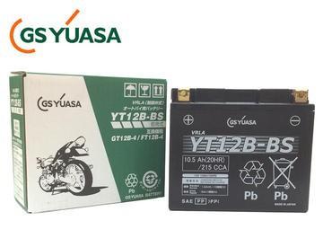 GSYUASA(GSユアサ) YT12B-BS VRLA(制御弁式)バイク用バッテリー