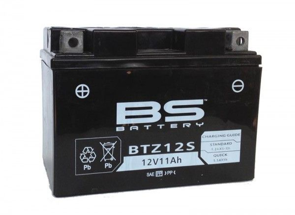 BS BATTERY BTZ12S VRLA(制御弁式密閉)バッテリー(あす楽対応)