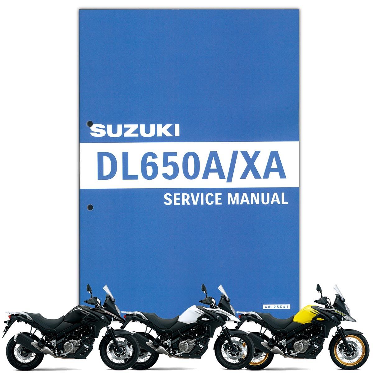 SUZUKI(スズキ) V-Strom650 ('17-'18) サービスマニュアル(S0040-25C41)