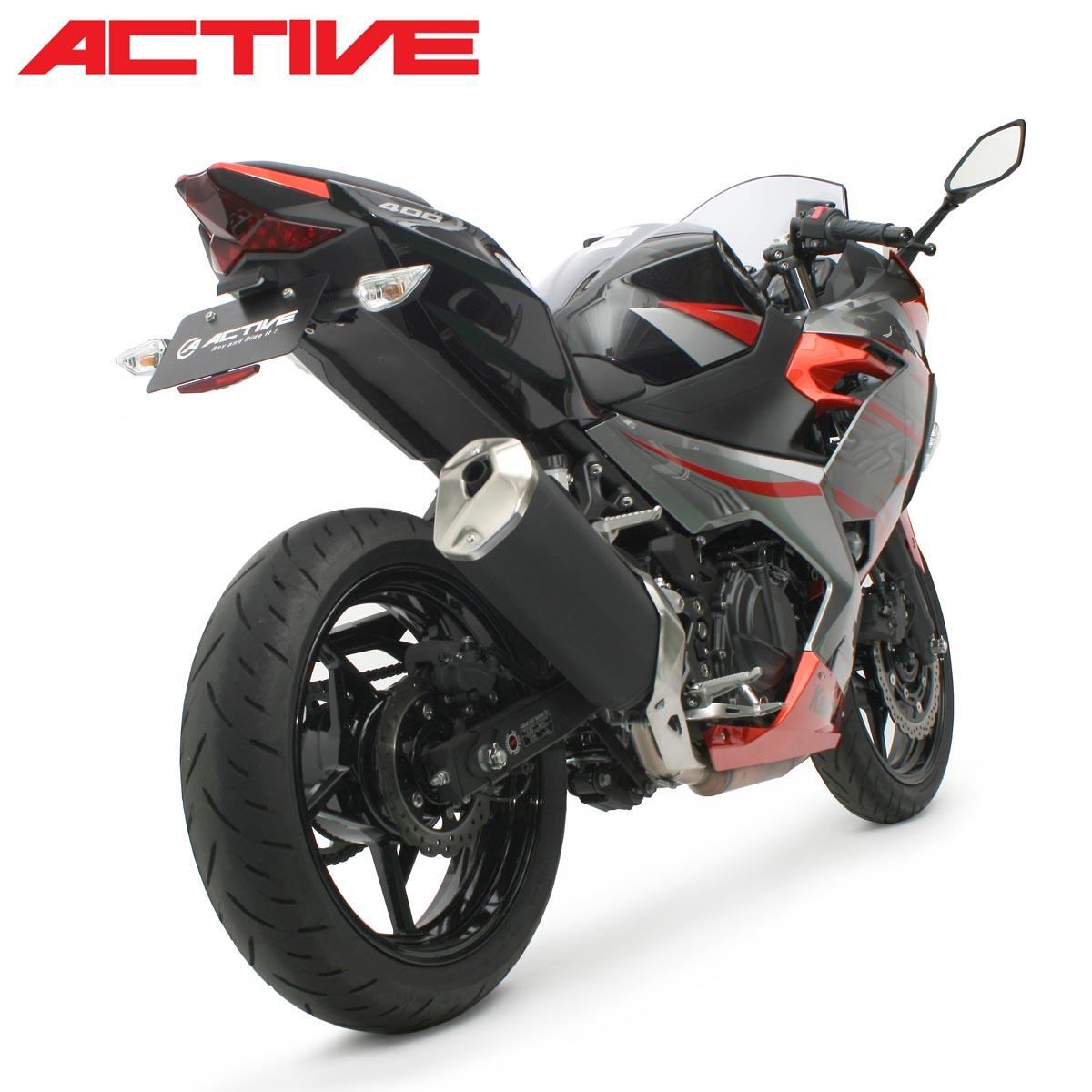Kawasaki Ninja250/400 ACTIVE フェンダーレスキット(LEDナンバー灯付き) 1157089