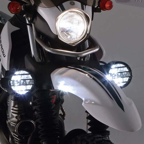 ワイズギア YAMAHA SERROW250 セロー250 PIAA製 LEDフォグライトキット Q3PPIA021902