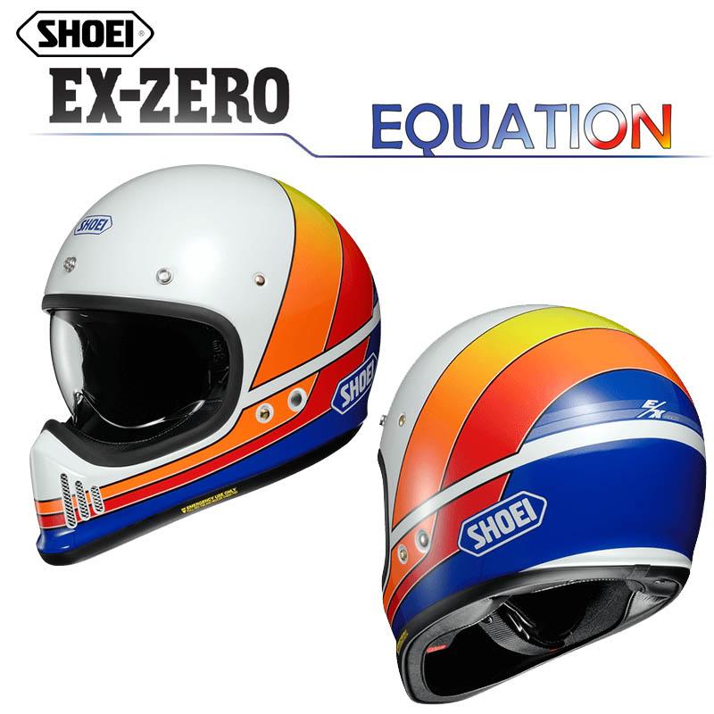 SHOEI EX-ZERO EQUATION(イクエージョン) フルフェイスヘルメット