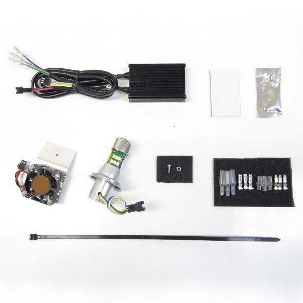 PROTEC SR400専用 LEDヘッドライトバルブキット(3000k)LB4-SR3