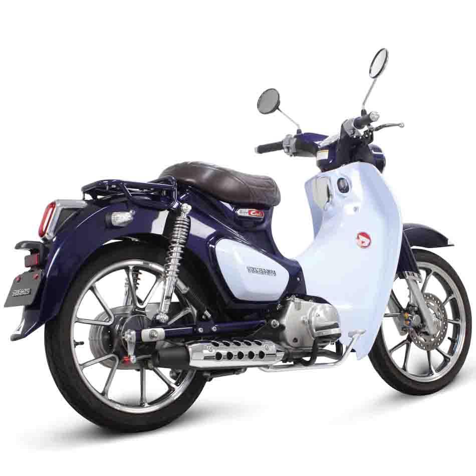 HONDA スーパーカブC125 スペシャルパーツ武川 SSSマフラー 04-02-0331