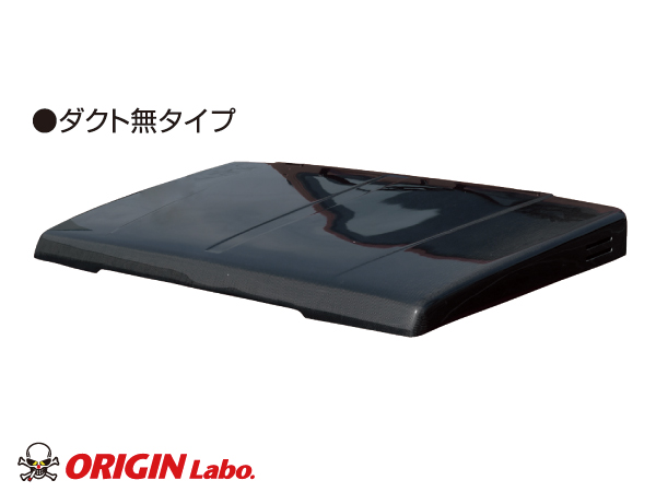 ジムニー ボンネット ダクト無 カーボン製SJ30/SJ40/JA51/JA71/JA11/JB31【ORIGIN Labo./オリジンラボ】