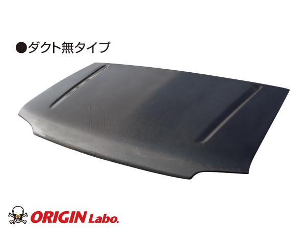 ジムニー ボンネット ダクト無 FRP製JB23/JB33/JB43【ORIGIN Labo./オリジンラボ】
