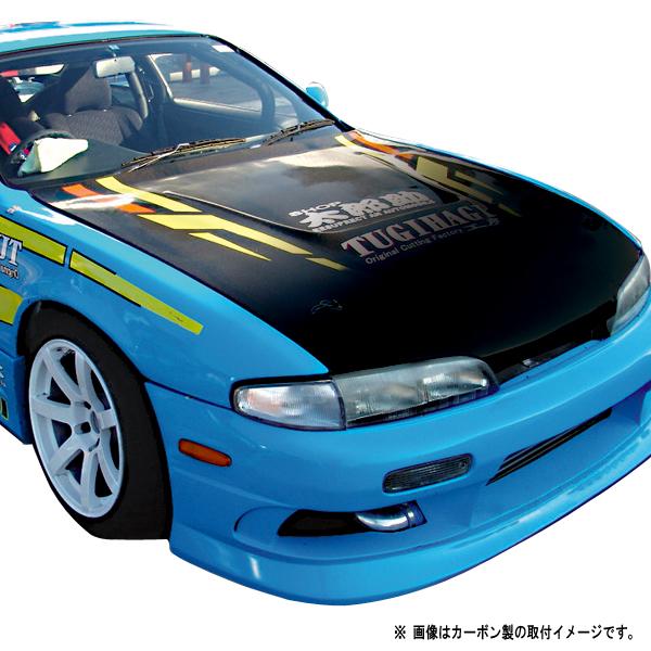S14 シルビア 前期 ボンネット Type1 カーボン【ORIGIN Labo./オリジンラボ】
