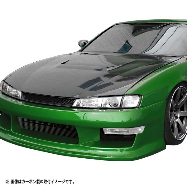 S14 シルビア 後期 ボンネット Type1 カーボン【ORIGIN Labo./オリジンラボ】