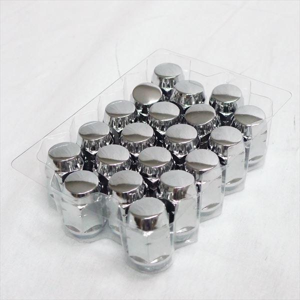 交換無料 商品追加値下げ在庫復活 ジムニー用 クロームナット 20本