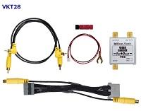 純正ナビにモニターが増設できる映像出力キット!ビートソニック VKT28 ビデオ出力アダプターキット (ホンダメーカーオプションナビゲーション付車専用) Beat-Sonic