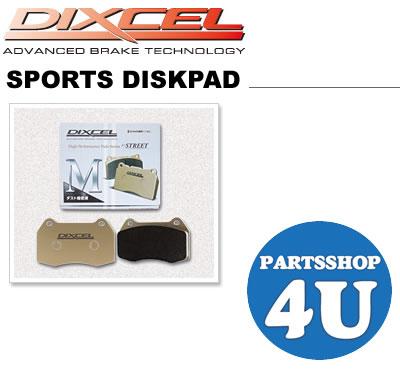 DIXCEL ディクセル スポーツディスクパッド Mタイプ Xタイプ Zタイプ R01タイプ RNタイプ RDタイプ リア用 ブレーキパッド アルファード / ヴェルファイア 年式 02/05~08/04 ANH10W / 15W MNH10W / 15W 品番 315 396