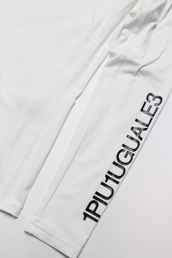 LADY'S 1PIU1UGUALE3 GOLF UNDER SHIRTS PLAIN アンダーシャツ S Mサイズ 【ホワイト】MST021 WHITE ゴルフウェア レディースウエア 長袖 シンプル 可愛い 送料無料