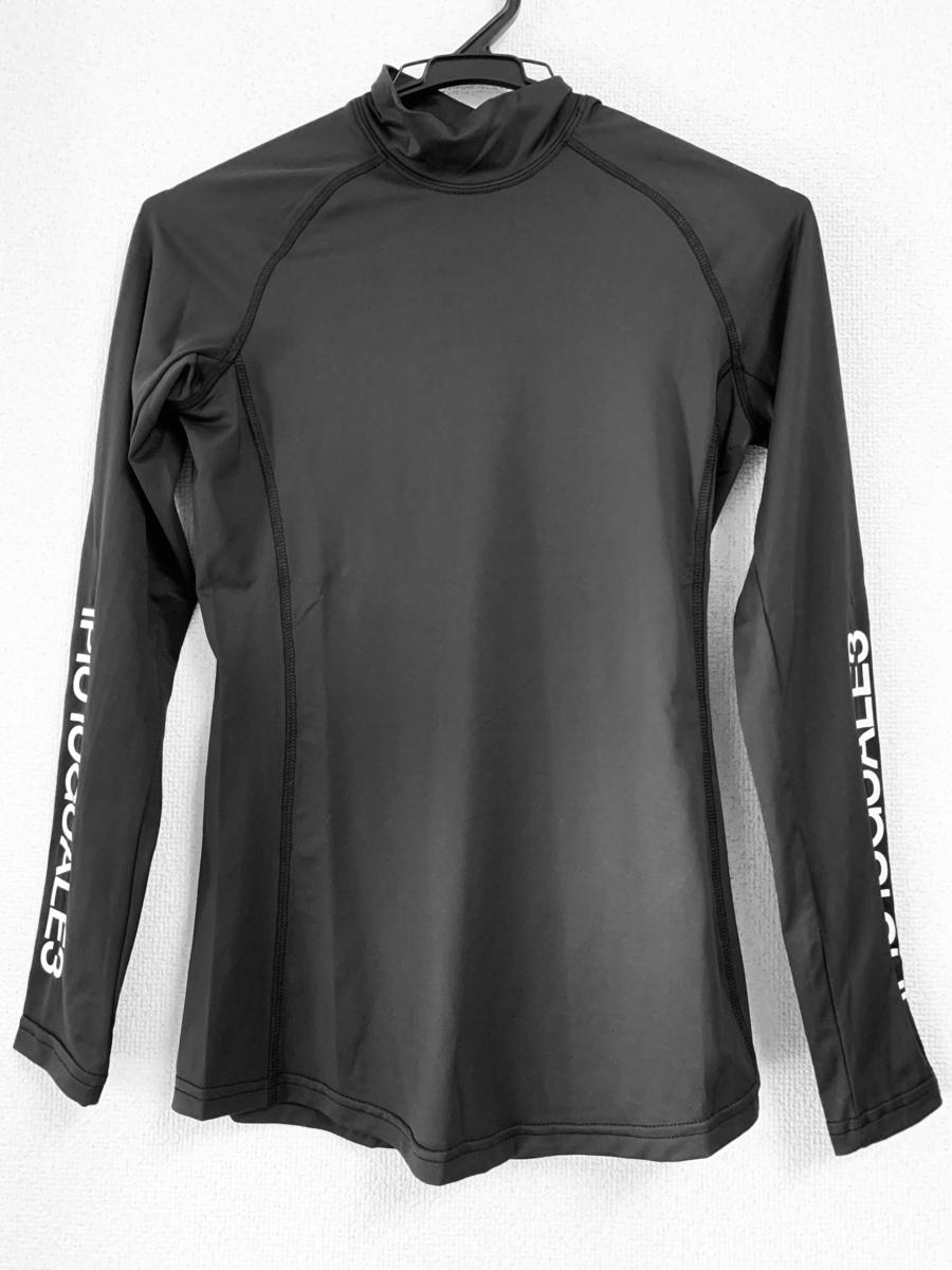 LADY'S 1PIU1UGUALE3 GOLF UNDER SHIRTS PLAIN アンダーシャツ S Mサイズ 【ブラック】MST021 BLACK ゴルフウェア レディースウエア 長袖 シンプル 可愛い送料無料