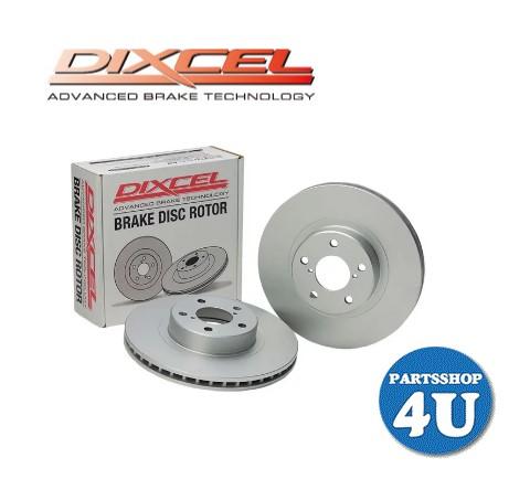 DIXCEL ディクセル プレーン ディスクローター ブレーキローター リア R 2枚SET PD ローター BRAKE DISC ROTOR 防錆 クラウン CROWN 型番 315 9076 型式 GWS204 Hybrid ハイブリッド GRS214 年式 08/02~ 3159076 送料無料