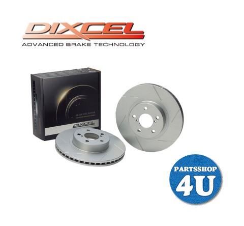 【DIXCEL】【ディクセル】【スリットディスクローターSD】【ブレーキローター リア2枚SET】【シルビア SILVIA】【型式 S15】年式 99/1~02/09 【型番325 2010】