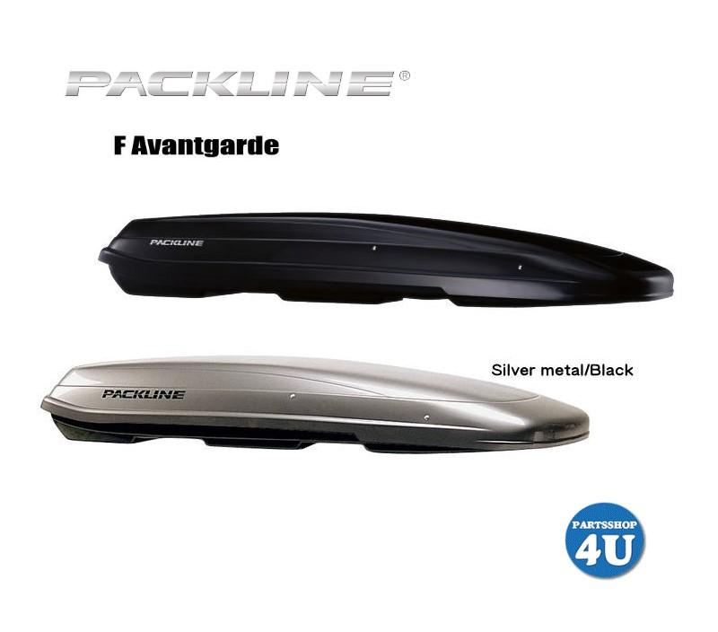 PACKLINE F-Series Avantgarde パックライン アヴァンギャルド ルーフボックス ノルウェーブランド ブラック or シルバーブラック 容量:430L スキー スノーボード フィッシング アウトドア 用品など収納 ジェットバック キャリア 収納 正規品 代引き不可 送料無料 5年保証