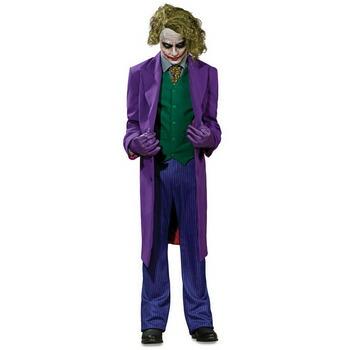 【送料無料】 大人用ジョーカーコレクターズ版 【 コスプレ 衣装 仮装 ハロウィン 余興 大人用 メンズ アメコミ コスチューム バットマン グッズ 悪役 ジョーカー Joker パーティーグッズ 映画キャラクター スーパーヴィラン 男性用 公式 DCコミック 】
