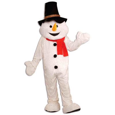 【送料無料】 DXスノーマン(雪だるま) 【 コスプレ 衣装 仮装 ハロウィン 余興 大人用 コスチューム 女性 メンズ クリスマス 着ぐるみ 雪だるま パーティーグッズ イベント用着ぐるみ イベント衣装 レディース 男性用 女性用 】