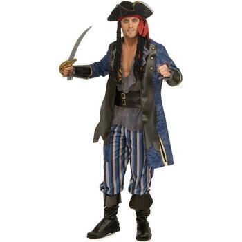 パイレーツキャプテン(海賊船長) STD 【 コスプレ 衣装 ハロウィン 仮装 余興 大人用 メンズ 海賊 パイレーツ コスチューム パーティーグッズ 男性用 】