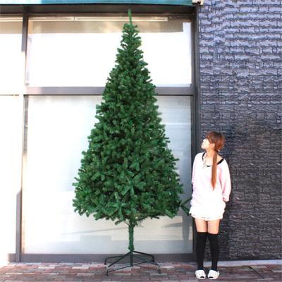 【送料無料】 ! クリスマスツリー Funderful 300cmヌードツリー 【 大きい 大型 飾りなし 装飾 グリーンヌードツリー 】