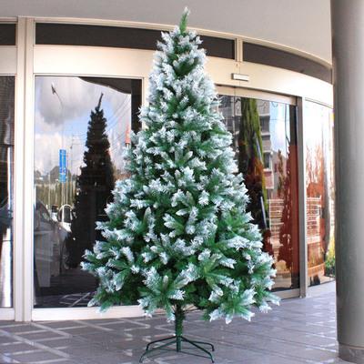 【送料無料】 クリスマスツリー Funderful 240cmスノーデコツリー 【 装飾 ヌードツリー 雪 白 飾り 大きい 大型 ホワイトツリー 】