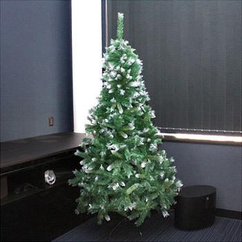【送料無料】 クリスマスツリー Funderful 210cmスノーデコツリー 【 雪 飾り 白 ヌードツリー 装飾 ホワイトツリー 】