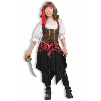 かわいい海賊 子供用 M 【 コスプレ 衣装 ハロウィン 仮装 子供 キッズ 子ども用 コスチューム 女の子 海賊 パイレーツ パーティーグッズ こども 】