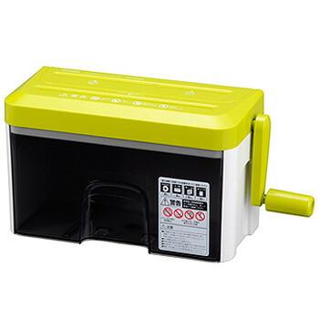 新品■送料無料■ シュレッダー 評価 オフィス用品 事務用品 OA機器 取寄品 HS-HCM2WK マイクロカットハンドシュレッダー