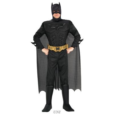 【送料無料】 DXバットマン・ダークナイト XL 【 コスプレ 衣装 ハロウィン 仮装 余興 大人用 メンズ アメコミ コスチューム 大きいサイズ バットマン 公式 男性用 パーティーグッズ 正規ライセンス品 DCコミック 映画キャラクター 】