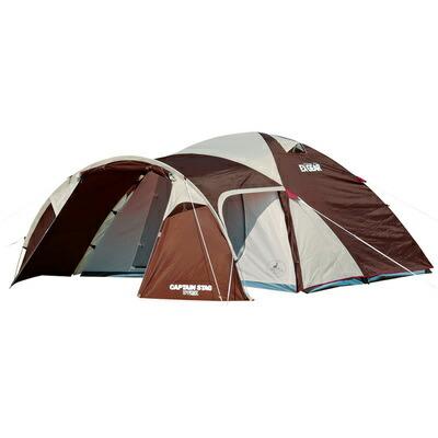 【送料無料】 CAPTAIN STAG(キャプテンスタッグ) エクスギア 2ルームドーム270 4~5人用 【 キャンプ用品 テント レジャー用品 宿泊用テント テントセット 2ルームテント キャンプテント アウトドア用品 ツールーム型テント 】
