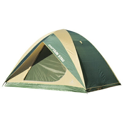 【送料無料】 【取寄品】 CAPTAIN STAG(キャプテンスタッグ) プレーナドームテント 5~6人用 【 キャンプ用品 キャンプテント ドーム型テント アウトドア用品 レジャー用品 テントセット 宿泊用テント 】